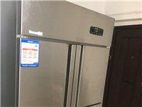 双门冰柜 醒发箱 烤盘 操作台3个
