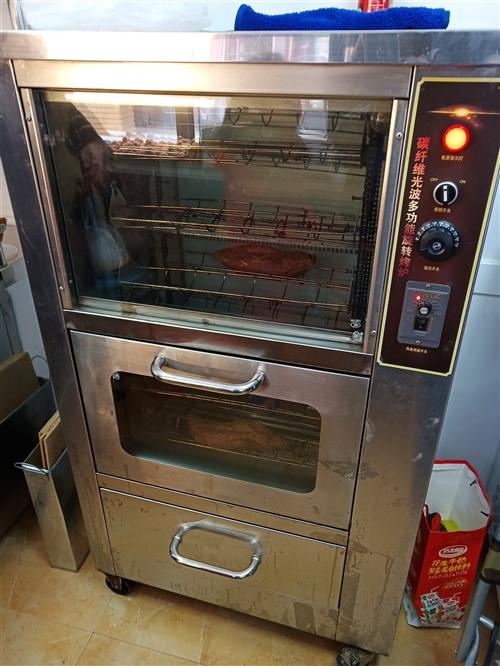商用烤红薯机,大型128,一次可烤四十升的,光波炉,买来用了一个月,原价2580,现低价处理,