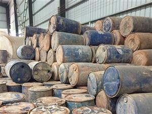 河源龙川县处理废旧胶桶,塑料油桶,有500个左右