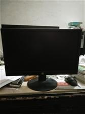 19寸名牌惠普显示器便宜卖