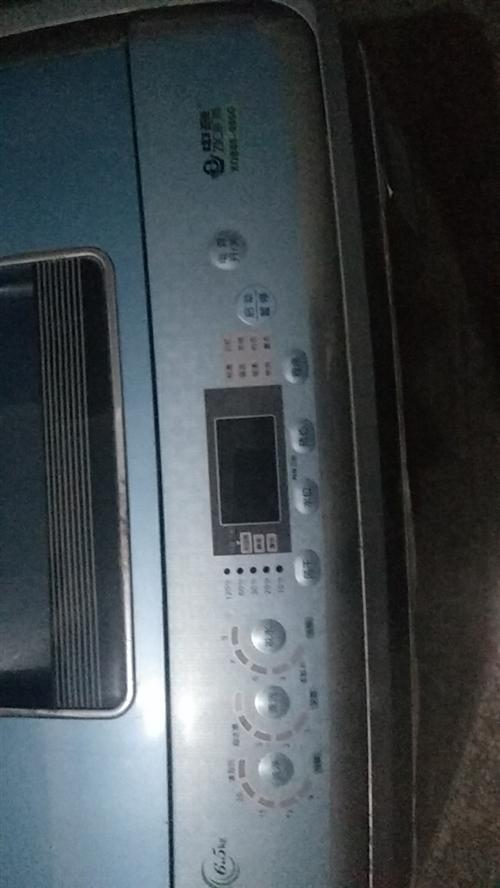 二手洗衣機七成新6.5升的有需要的請聯系手快有手慢無哦。