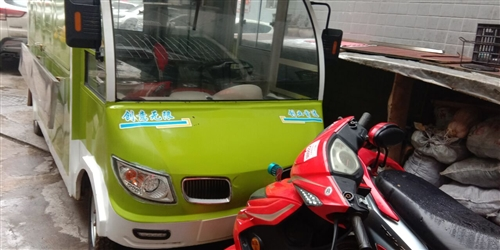 朋友们。这个车是电动车,以前买在贵阳准备做快餐生意卖早餐,后来因为做其他生意就把车放在家里7,8个月...