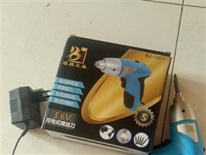 电钻3.6v充电式螺丝刀。全新的。 1米2的床头一个。下部的纸是可以撕下来的。7成新。床头50。电...