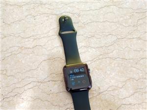 苹果腕饰手表,9成新,到手到现在共40天,没怎么带过,无碰撞,无磕损,原价2199元,现在1500元...