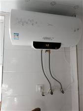 因要换燃气热水器,才买两个月的美的电热水器�缡�