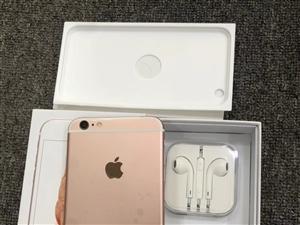 苹果库存机6S金粉银灰128G国行、外观10新、手机原厂膜没撕、还没充过一次电、全套全原配件没动过、...