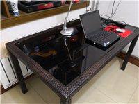 同样款式的仿藤阳台桌一张(买来包装未拆),规格:1400*750*700㎜,原价转让。