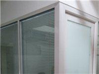 高档中空钢化玻璃隔断,重新装修,转让,价格面议,包拆装,规格高2米,长7米