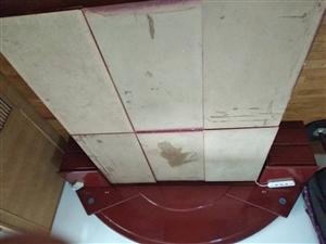 二手床,宽1.5米长2米,木工打制高箱床代2个床头