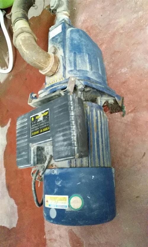 上海產康元自吸家用水泵1臺,九成半新,原價320元,現處理價170元,聯系手機號1383898581...