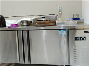 直冷冰柜工作台转让,只用了3个月几乎全新,现低价转让