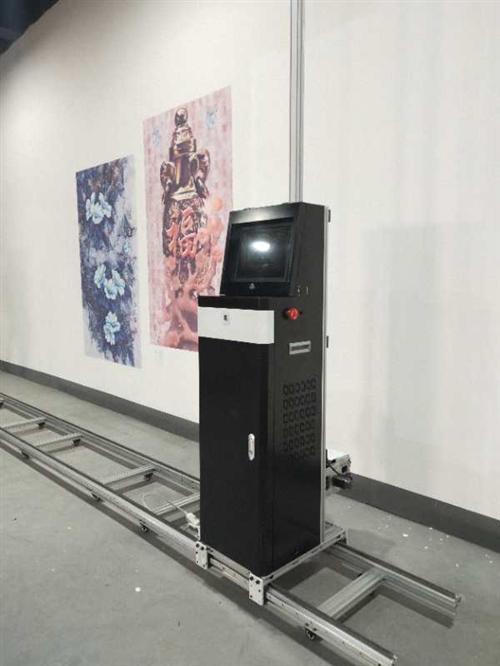 全新3喷头3D墙体打印机,可做政府文明宣传画,学校墙体壁画,各种广告宣传画,室内玄关影视墙,,轻松代...