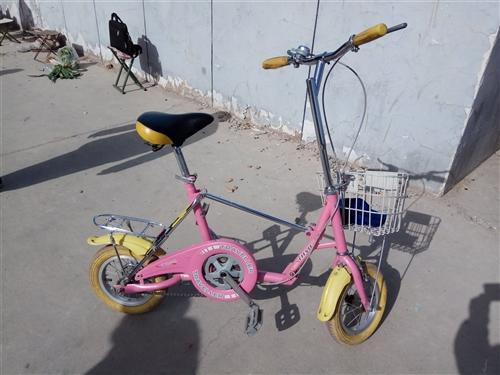 折叠自行车全钢,有发票原价680