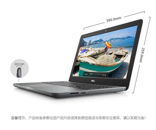 筆記本電腦 戴爾 Inspiron 15-5565灰色 AMD,無線局域網內置藍牙,操作系統Wind...