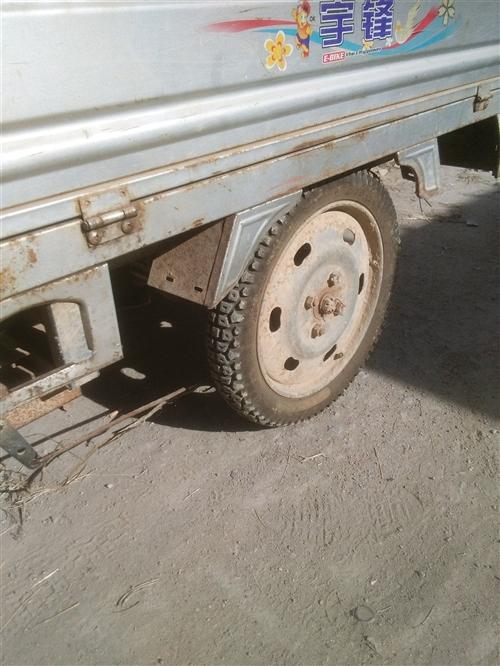 电动三轮车一辆两条新轮胎,车箱90,130电瓶有力,续          以售...