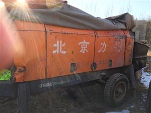 北京力特50地泵,75电机,保养到位个人一手18603313139