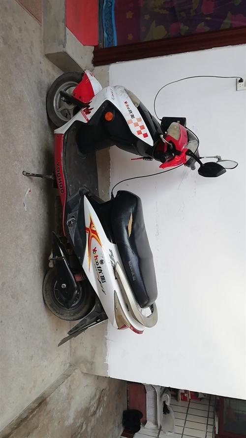 优狐电动车    72V    骑5年,保养的可以,2018年12月新换的5块电池,潢川汽车站往南,...