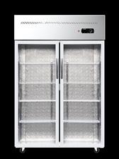 九成新双开门冷藏柜