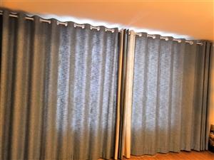 客厅窗帘500大麻布料,主卧窗帘300大麻布料,客卧窗帘400,不喊价格 。