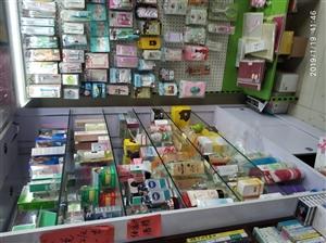 饰品店货架处理!玻璃柜,中岛,挂板!