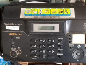 电话传真机出售。正常使用中。50元出售。要的电话呼我。