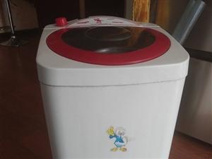 单人洗衣机   自己用了一年    爱护的很好    网上260带邮费  买的    买新洗衣机  ...