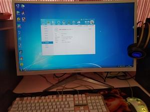 32寸曲面屏 几乎全新!韩国现代n32c