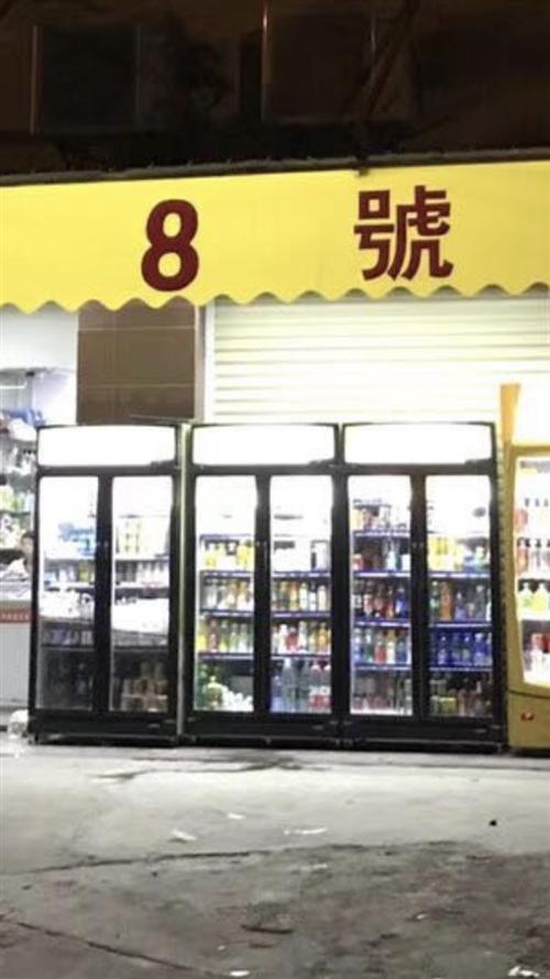 便利店双门饮料展示柜