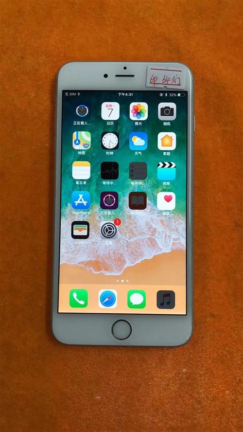 苹果6plus国行64G全网通现货三部,原壳原屏成色完美,价格:1700元,电话微信:1313937...