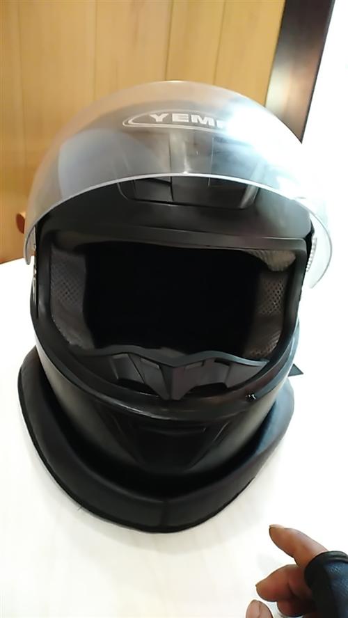 野马头盔,带了,一个多月,