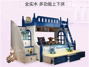 用过的上下床带床头柜,八层新,原价3800,现价1200