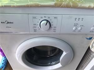 出售闲置二手美的滚筒洗衣机一台,联系电话18170697066