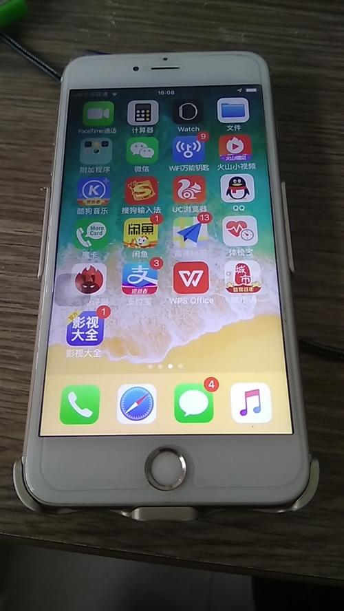 出一台苹果6p大屏,64g内存,流畅,换过电池,帐号?#36175;恕? data-bd-imgshare-binded=