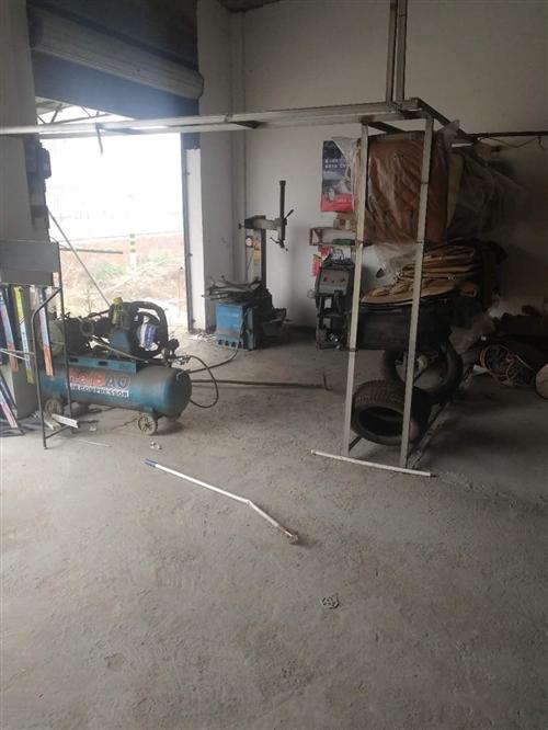 举升机 气磅 拔胎机 洗车机 均能工作 因工作需要现转让 价格可议