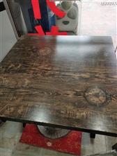 处理2张八人桌,3张4人桌,一样的质量