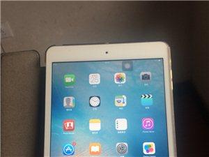 先验机后付款:低价转让?iPad-mini2-64G买了一年多,完好无损,无任何划痕,配件齐全,还贴...