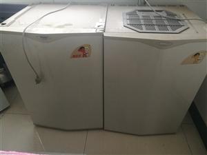 海尔双王子电冰箱,上下层可分开放置,分开插电,分别设置温度,冰箱完好,家里腾地方出售,200元不还价...