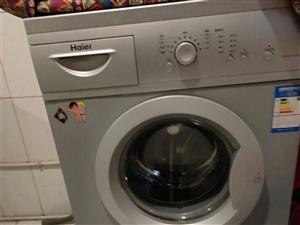 海尔滚筒洗衣机 因搬家 低价处理