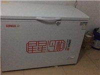 星星冷柜,容量305升,冷藏冷冻可随意调换,95成新,电话13693109082