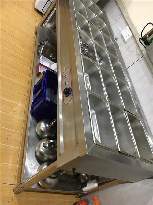快餐自動加熱臺,18個餐格,僅使用3個月,接近全新,低價轉讓,電話13693109082
