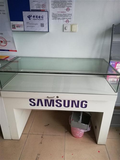 卖手机用的柜台,九成新。