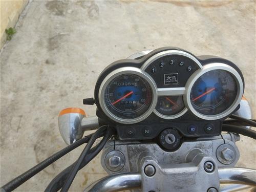 大運品牌摩托15年買的  4千公里 8成新