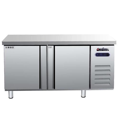 双温操作台冰柜。600元。自提