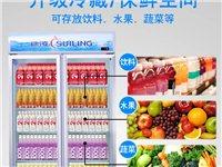 二手8成新冰柜/可做水果食物展览
