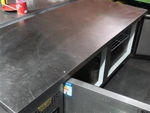 一米八操作台冷冻冰柜,九成新