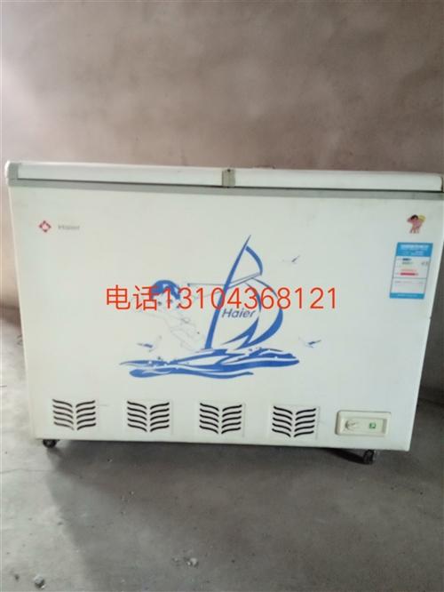 海尔节能冰柜,正常使用,市内免费送货。