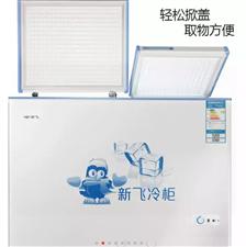 转让二手新飞冰柜(120×60)一台,因为家里小吃生意不干了腾地方特对外转让,200直接拉走,冰柜性...
