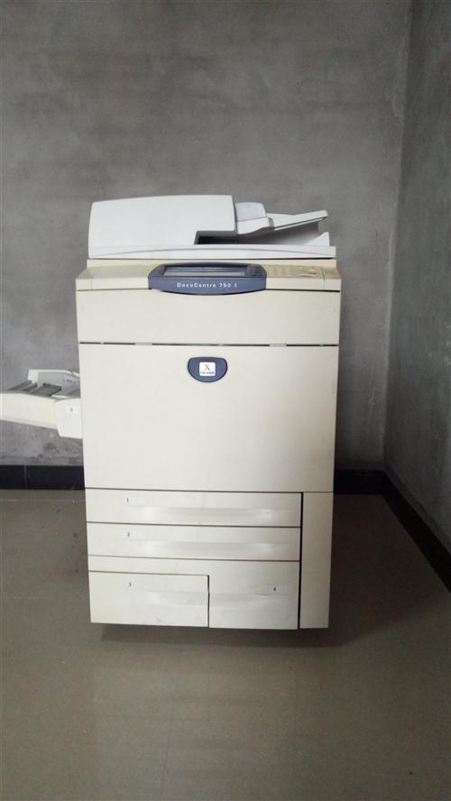 八成新富士施乐750i一台,可复印扫描打印制版。价格面议