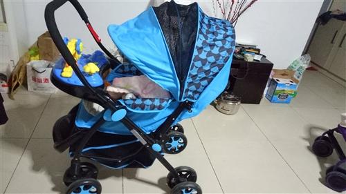 我家宝贝2018年出生的时候买的童车,宝宝没怎么坐,放在家里实在占地方,诚心诚意出售,有需要的宝妈可...