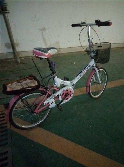 可折叠自行车